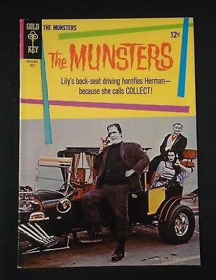 THE MUNSTERS Vintage July 1965 12-cent Comic Book #3 Gold Key VF+ Very Fine+