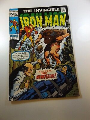 Iron Man #24 FN- condition Huge auction going on now!