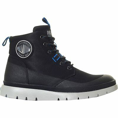 Palladium Pallasider Coated Mid Mens Boots - Black All Sizes