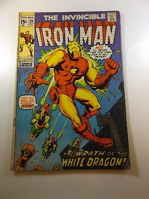 Iron Man #39 VG condition Huge auction going on now!