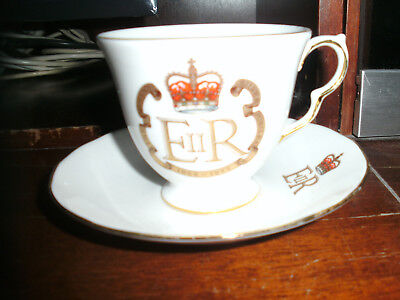 The Queens Silver Jubilee, 1952-1977 Bone China Queen Anne