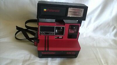Polaroid Supercolor 645 CL-VINTAGE COLLECTORS ITEM, RARE FIND ORIGINAL