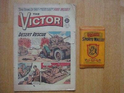 VICTOR COMIC #33   October 7th 1961 WITH FULL SET 22 x FREE GIFT CARDS