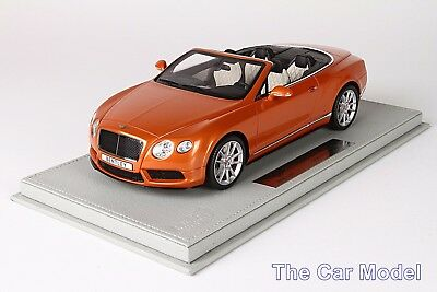 Bentley Continental GT V8 S Convertible Sunrise, Ltd 20 pcs w/ Case BBR 1/18