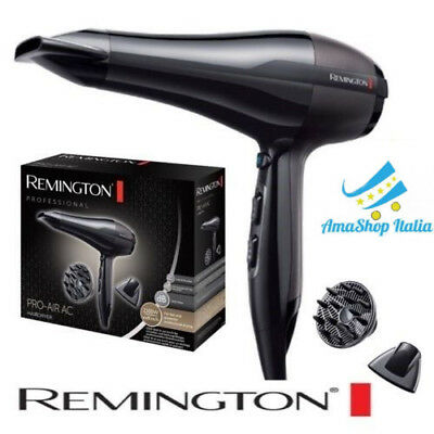 Asciugacapelli Professionale Remington AC5999 Anti-Crespo, 2300 W