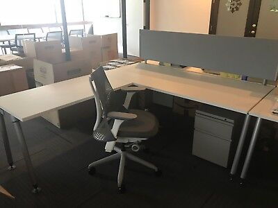 (SET OF 10) Herman Miller Sense New Cubicles (couple of them have used 4 months)