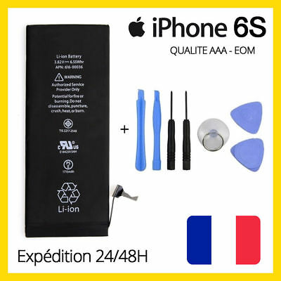 BATTERIE ORIGINAL INTERNE POUR IPHONE 4 4S 5 5S 5C 6 6 Plus 6S 7 Plus + OUTILS