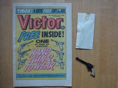 VICTOR COMIC #1023 September 27th 198WITH FREE GIFT COLT FRONTIER HANDGUN