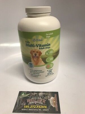 Excel Daily Multi-Vitamin for Adult Dogs, 180 Ct. EXP. 07/2020.  New, Ships Free