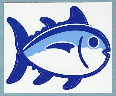 New Authentic Southern Tide Skipjack Fish Laptop Car Sticker Decal