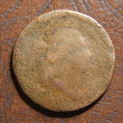 1794 Capped Liberty Half Cent, High Relief