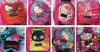 HELLO KITTY Sanrio Watch lot complete set 8, New sealed McDonalds Happymeal 2008