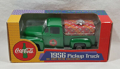 Coca Cola 1956 Pickup Truck Die-Cast Metal Collectible F295 Replica
