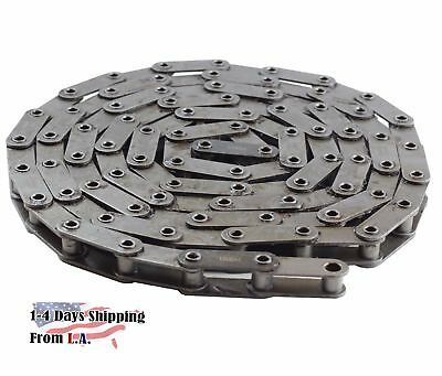 C2060H-HP Hollow Pin Heavy Duty Conveyor Roller Chain 10 Feet 1 Connecting Link