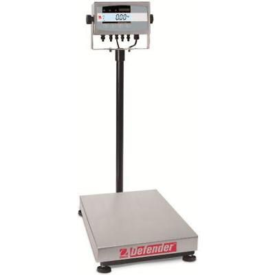 Ohaus D51XW60HL2 Defender 5000 Washdown Bench Scale Cap 150 lb With Warranty