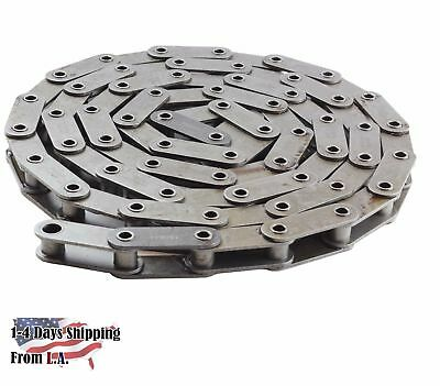#C2080HP Hollow Pin Heavy Duty Conveyor Roller Chain 10 Feet 1 Connecting Link