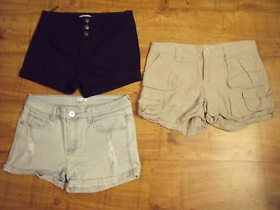 Bulk lot of shorts 3 pairs size 12 Supre, Junk, Valleygirl!