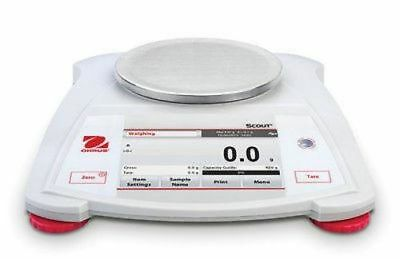 OHAUS Scout STX222  Capacity 220g Portable Balance Scale 2 Year Warranty