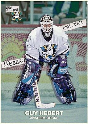 ALUMNI MARATHON GUY HEBERT Topps NHL Skate Digital Card