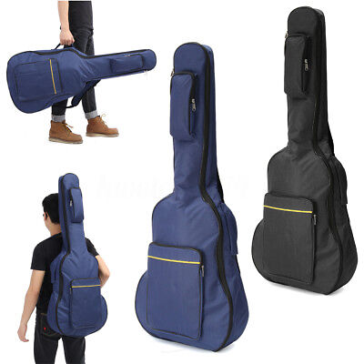 "40"" 41"" Waterproof Acoustic Classical Guitar Gig Bag Soft Case Strap Backpack"