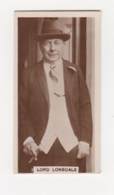 Rare Royal Cigarette Card -Lord Lonsdale