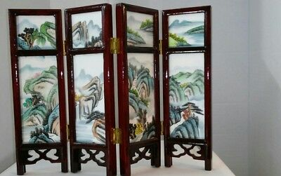 Chinese style miniature screen