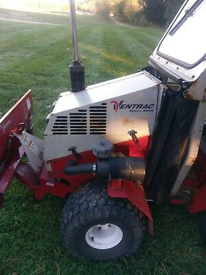 Ventrac 4000 diesel with plow and salt spreader and cab 4x4 3pt hitch