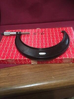 Starrett No. 436 5 - 6 inch outside micrometer WITH BOX MADE IN THE USA
