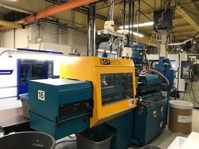 1997 50 Ton 4.0 oz Boy 50T2 Injection Molding Machine #54871 and Star picker