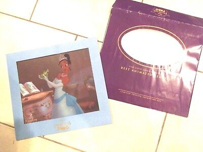 """Disney's """"the Princess And The Frog"""" Limited Edition Original Sericel  Rare"""