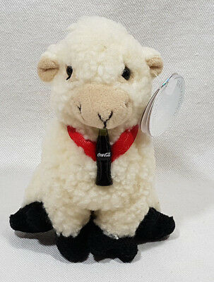 Coca Cola International Beanie Baby 1999 Woolsey The Sheep Ireland 0244