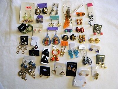 Vintage to Now Earring Lot of 36 Pair