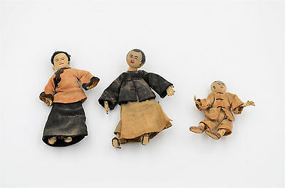 Vintage Miniature Japanese Dolls
