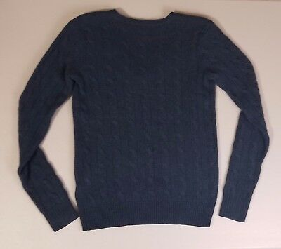 Polo Ralph Lauren Wool / Cashmere Cable Knit Long Sleeve Sweater Boy's Size M
