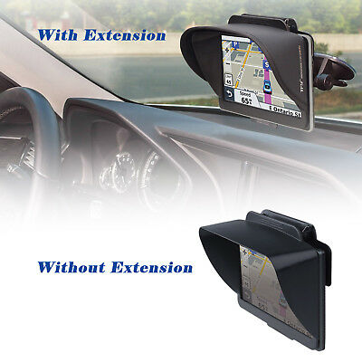 TFY GPS Navigation Sun Shade Visor for  42LM 4.3 / 7Inch Portable Vehicle GPS