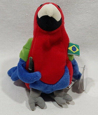 Coca Cola International Beanie Baby Collection 1999 Barrot Brazil 0229