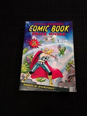 The Overstreet Comic Book Price Guide 36Th Edition-Soft Cover- May 2006!! Thor!!