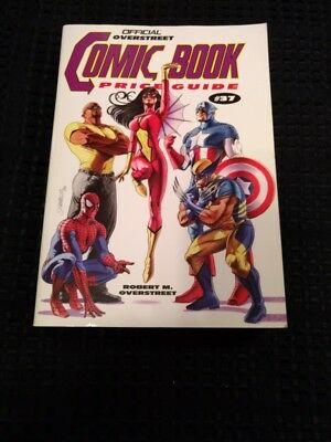The Overstreet Comic Price Guide 37Th Edition-Soft Cover- 5/2007 New Avenger!!