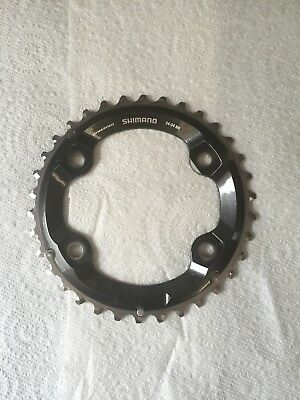 Shimmano XT M8000 (2 X Chainring Use Only) 34t. New Bike Take Off