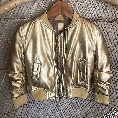 Rock Your Baby Gold bomber Jacket