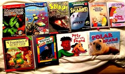 ACCELERATED READER Lot  21 Children's  Chapter Picture Books 3rd Grade