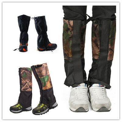 Waterproof Outdoor Climbing Camping Snow Chaps Gaiters Leg Cover Boot Hunting