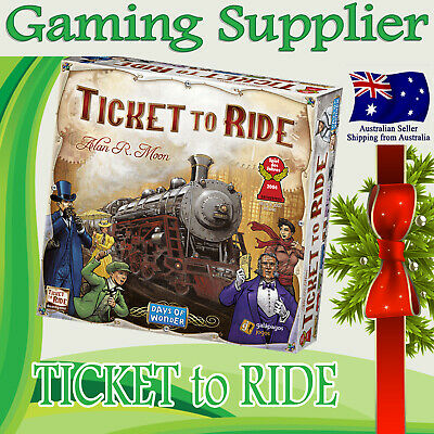 Brand new TICKET TO RIDE Origin Edition Family Board Game Great Christmas Gift
