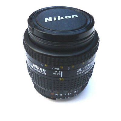 AF Nikkor 35-70mm Zoom Lens for Nikon SLR/DSLR Mount f/3.3-4.5 -