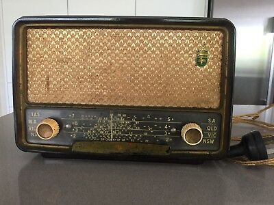 Fleetwood (Philips) Retro 1950's Model 1003 Valve Radio