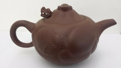 Chinese Whistling Dragon Teapot