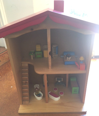 Hand Crafted Wooden Doll house
