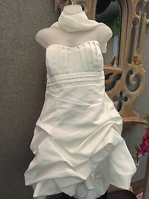 new wedding or engagment dress short length size L