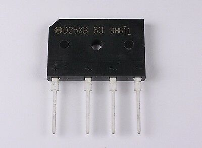 D25XB80 bridge rectifier 25A / 600V