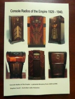 Vintage Radio books parts 1 & 2 Console Radios of the Empire